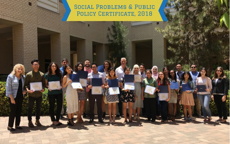 The Certificate In Social Problems U0026 Public Policy Recognizes Special  Expertise Relevant To Developing, Implementing, And Evaluating Programs In  Education, ...